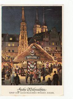 AK Weihnachten Christkindlesmarkt Nürnberg +   eBay