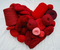 wolly red heart