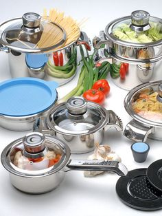 Invico Vitrum Cookware Set (16 PC) by BergHOFF on Gilt Home