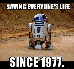 Too true ....shame he not in the force awakens ....well its been along time ago in a galaxy far far away