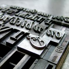 Type Casted in Metal: Johannes Gutenberg's Movable Cast of Characters Typography Letters, Hand Lettering, Johannes Gutenberg, Metal Prices, Ex Machina, Printing Press, Letterpress Printing, Apple Products, Letters And Numbers
