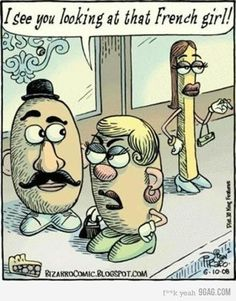 Mr.potatoe tsk tsk tsk does mrs potatoe know u have a thing for blondes? ;)