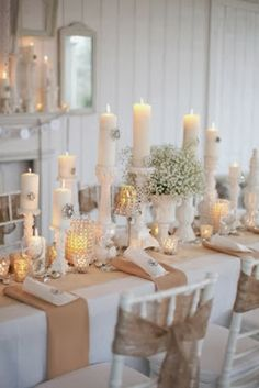 #Wedding  … white  ♥ https://itunes.apple.com/us/app/the-gold-wedding-planner/id498112599?ls=1=8 'How to plan a wedding' iPhone App ... Your Complete Wedding Ceremony & Reception Guide  FREE FOR A LIMITED TIME ♥ http://pinterest.com/groomsandbrides/boards/ for more magical wedding ideas ♥  pinned with love.