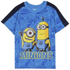 Despicable Me Little Boys Toddler Minions T Shirt #minion #minions #minionstuff