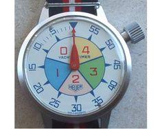 Cronometro da polso heuer yacht timer da vela