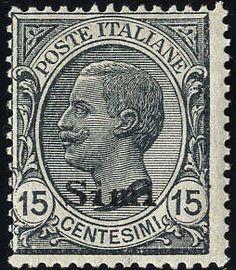 Aegean Islands 1921/22, Simi, 2 val., U. 9+11, S. 10-11 / 600,-  Lot condition **  Dealer Briefmarken Monster  Auction Starting Price: 140.00EUR