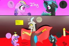 picture of daughter of discord mlp - Google Search