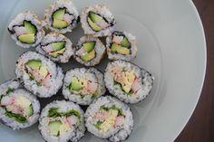 California Sushi Rolls and Salad Sushi Rolls