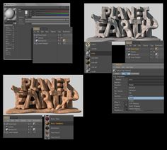 Advanced Tutorial: Creating 3D Rendered Type in Cinema 4D