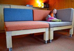 FOTONÁVOD: Multifunkčný mobilný nábytok (kde tvorím, spím a hrám sa) / LIPTOVart / SAShE.sk
