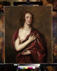 Anthony van Dyck, Margaret Lemon (ca. 1635-40, Royal Collection, London)