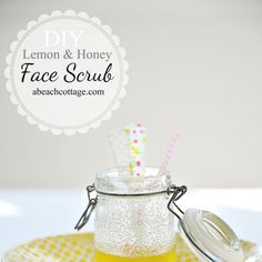 11 Amazing Homemade Face Scrub Recipes Exfoliating removes dead skin cells, leaving skin smooth and radiant. But if you're hesitant to put chemical-laden products on your pretty face, no worries. We've rounded up the 11 best homemade face scrub recipes for you to try. The best part? Each one is made from ingredients you probably have in your cupboards. Honey, Lemon and Sugar Face Scrub - Fitnessmagazine.com