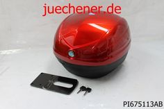 Top Case Kit Piaggio New Fly 50 125 rot ibis 854/A