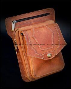 Маленькая лисья сумочка своими руками - Ярмарка Мастеров - ручная работа,  handmade. Кожаные изделия ручной работы KUGENKO LW   ВКонтакте 4fd0e6420ac