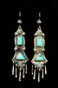earrings by Carlos Santa Fe