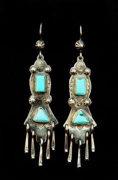 earrings by Carlos Santa Fe