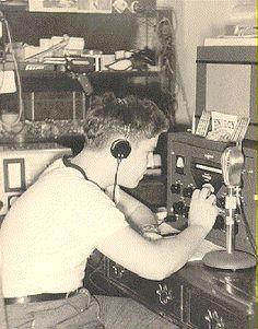 1934 Boy Scout's radio receiver. Antique radio, Ham