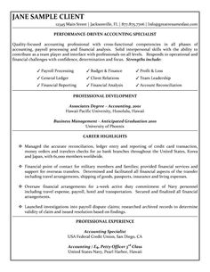 resume sample of an accounting specialist with cross functional competencies in accounting payroll processing and financial analysis - Entry Level Accounting Resume Examples