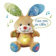 Mon lapin cache-cache câlin Dès 6 mois  - marque : Vtech Un lapin tout doux qui veille sur Bébé.... prix : 19.90 EUR €  chez Auchan Jeux et Jouets #Vtech #AuchanJeuxetJouets