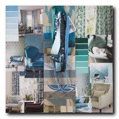 Blue Curtain Fabrics