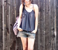 altered-tees - drawstring cami - with wider ties would enable bra wearing under it.