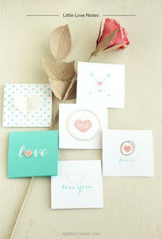 Little Love notes :: Inspiration Ave blog