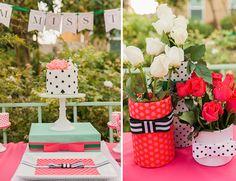 Kate Spade Inspired Bridal Shower – Wedding Blog