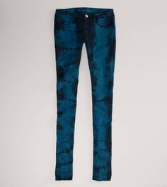 Tie-Dyed Jegging (i bought these<3)