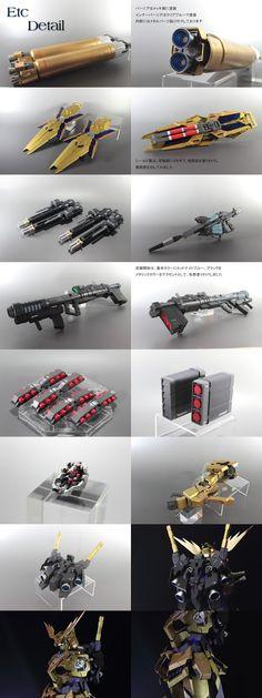 GUNDAM GUY: PG 1/60 Full Armor Unicorn Gundam Unit 03 Phenex - Custom Build