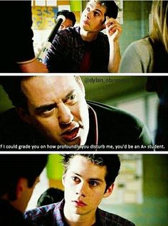 "hahahahahahha this part was so funny (Teen Wolf Season 4 Episode 05 ""I."" Stiles and Coach) Teen Wolf 4, Teen Wolf Quotes, Teen Wolf Funny, Teen Wolf Dylan, Teen Wolf Stiles, Teen Wolf Cast, Tv Quotes, Stydia, Sterek"