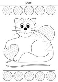 pregrafismo linee curve Tracing Worksheets, Preschool Worksheets, Preschool Shapes, Pre Writing, Writing Skills, Cat Coloring Page, Coloring Pages, Autumn Activities, Activities For Kids