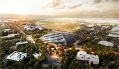 New Renderings Revealed of Google's Mountain View Campus