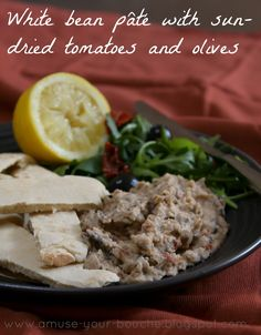 It often seems to be the case that the most delicious recipes aren't particularly beautiful. Plus, if someone's put too much thought into how a dish looks, I wonder whether they put enough effort into actually making it taste good. So, I bring you my ugly-but-irresistible white bean pâté, with all sorts of Mediterranean flavours: …