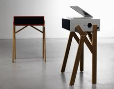paolo cappello for miniforms // tortotela  those legs looks like they are going to walk #wood