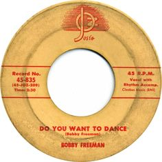 Bobby Freeman, who died in January, wrote and recorded one of the most indelible and often covered songs in the history of rock and roll. Read his story: http://popdose.com/soul-serenade-bobby-freeman-do-you-want-to-dance/
