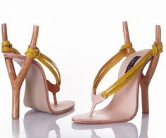 Seriously? Who thinks of these things? Unusually designed ladies shoes - 10 Pics | Curious, Funny Photos / Pictures