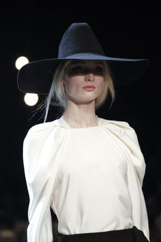 Halloween by Lanvin. Love the hat.