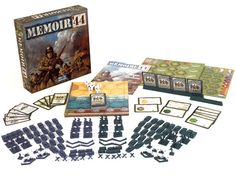 30 minute 2 player WWII game.  I usually don't like WWII games, but I love this one.  Fun, fast game play.