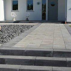 Garden Planning, Tile Floor, Villa, Flooring, Block, Products, Wall, Patio, Pavement