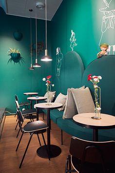 Mumin Kaffe Fabianinkatu - Helsinki, Finland. Photographer: Wanderlust by Jona