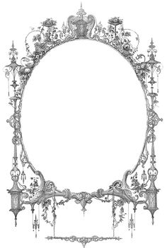 Free Vintage Borders Clip Art | Vintage Ephemera Image - Amazing Frame - The Graphics Fairy