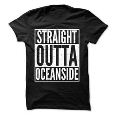 Straight Outta OCEANSIDE - Awesome Team Shirt ! - #sweater for fall #poncho sweater. MORE INFO => https://www.sunfrog.com/LifeStyle/Straight-Outta-OCEANSIDE--Awesome-Team-Shirt-.html?68278