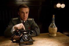 Christoph Waltz în  Inglourious Basterds (2009)