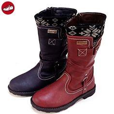 Kinder Schuhe Boots winterschuhe (140C) winterstiefel stiefel Mädchen Schuhe Größe 30 - 36 Neu Größe 31 3c38QGndjw