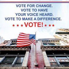 Today is #ElectionDay! If you haven't gone out to vote yet be certain you take the time to make your voice heard. #vote