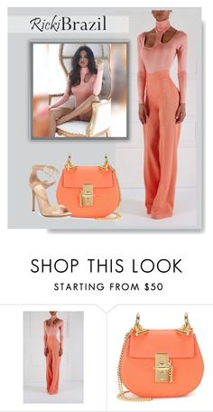 """""""RickiBrazil.com"""" by monmondefou ❤ liked on Polyvore featuring Chloé, Gianvito Rossi and rickibrazil"""
