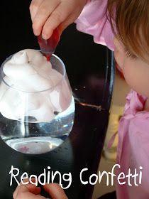 Reading Confetti: Preschool Cloud Experiment & Weather Blog Hop!