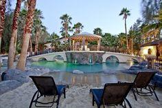 VRBO 314647 - 10 BR Las Vegas Villa in NV, The 2810 Private Estate - Best Pool, Sand Beach, Discount Rate for Nov-Feb 20