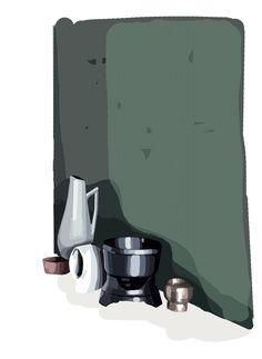 Still life, illustration Mathilde Crétier