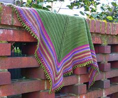 Ravelry: Terraced Shawl pattern by Hannah Ingalls